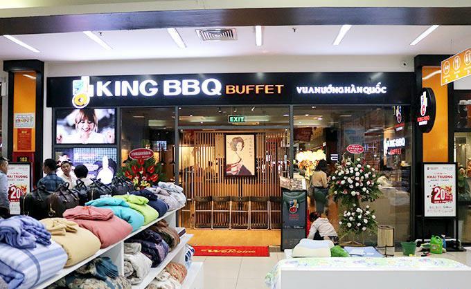 nhà hàng king bbq big c thăng long