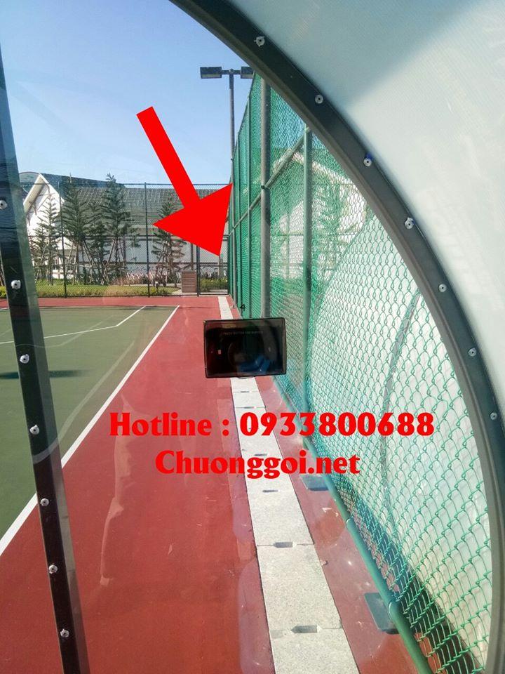 khu chơi bóng tennis